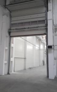 priemyselne sekcionalne garazove brany