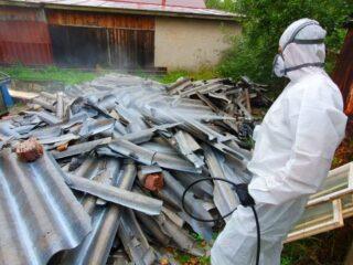 odvoz azbestu