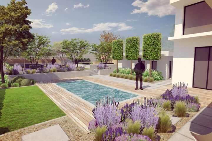 terasovita zahrada